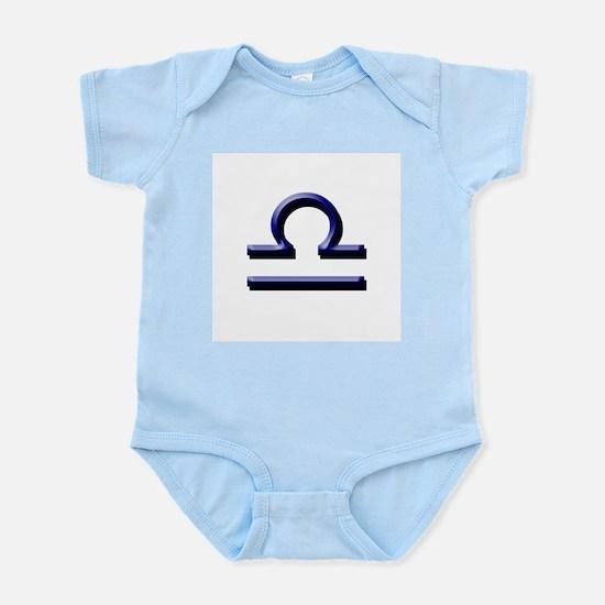 Libra Blue Infant Creeper