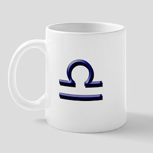 Libra Blue Mug