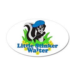 Little Stinker Walter 22x14 Oval Wall Peel