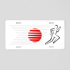 Athletics Runner - Japan Aluminum License Plate