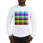Solid Color Chart Long Sleeve T-Shirt