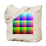 Solid Color Chart Tote Bag
