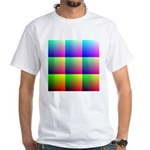 Solid Color Chart White T-Shirt