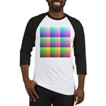 Divided Color Chart Baseball Jersey