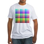 Divided Color Chart Fitted T-Shirt