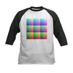 Divided Color Chart Kids Baseball Jersey