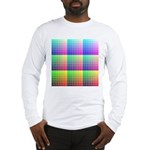 Divided Color Chart Long Sleeve T-Shirt