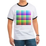 Divided Color Chart Ringer T
