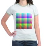 Divided Color Chart Jr. Ringer T-Shirt