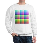 Divided Color Chart Sweatshirt