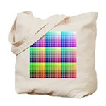 Divided Color Chart Tote Bag