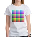 Divided Color Chart Women's T-Shirt