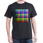 Divided Color Chart Black T-Shirt