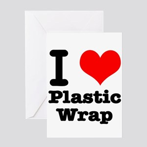 Cellophane wrap stationery cafepress i heart love plastic wrap greeting card m4hsunfo
