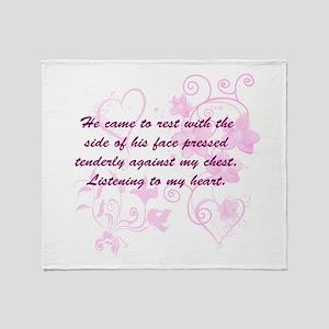 Bella Love Throw Blanket