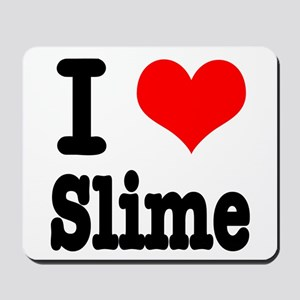 I Heart (Love) Slime Mousepad
