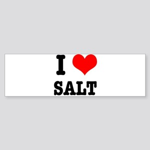 I Heart (Love) Salt Sticker (Bumper)