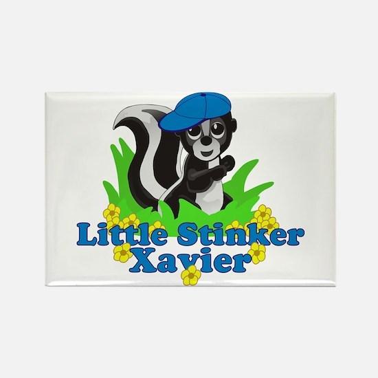 Little Stinker Xavier Rectangle Magnet