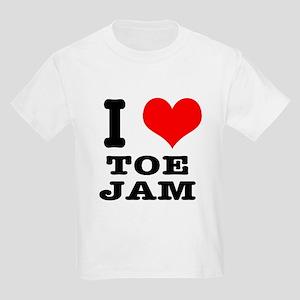 I Heart (Love) Toe Jam Kids Light T-Shirt