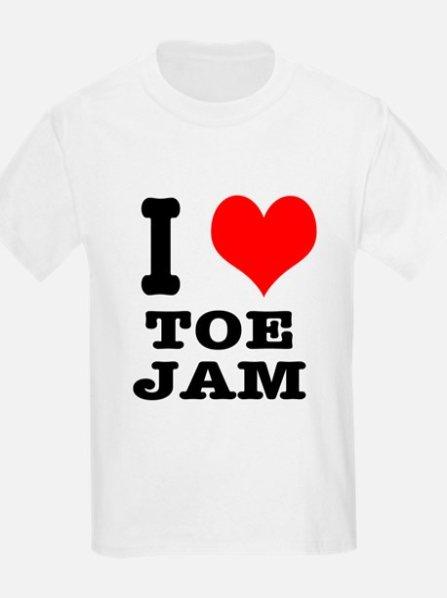 I Heart (Love) Toe Jam T-Shirt