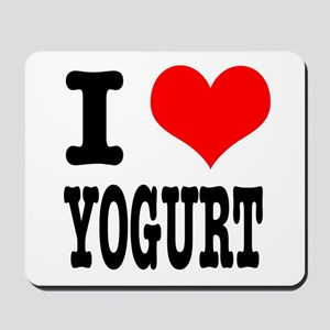 I Heart (Love) Yogurt Mousepad