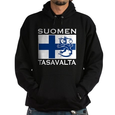 Suomen Tasavalta Hoodie (dark)