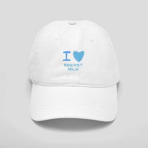 Blue I Heart (Love) Breast Mi Cap