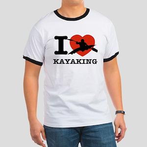 I love Kayaking Ringer T