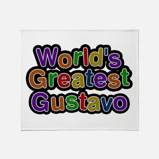 World's Greatest Gustavo Throw Blanket
