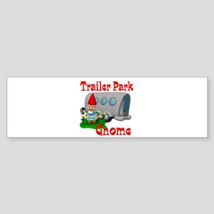 Trailer Park Gnome Sticker (Bumper)