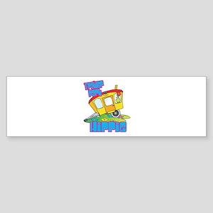 Trailer Park Hippie Sticker (Bumper)