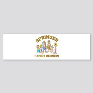 Springer Hillbilly Family Reu Sticker (Bumper)