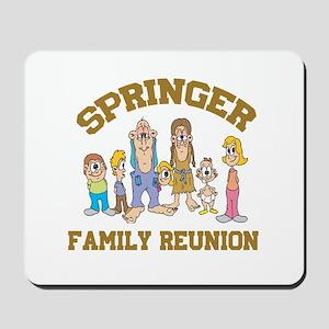 Springer Hillbilly Family Reu Mousepad