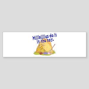 Hillbillies Do it in the Hay Sticker (Bumper)