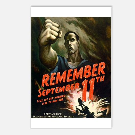 Remember September 11th Postcards (Package of 8)