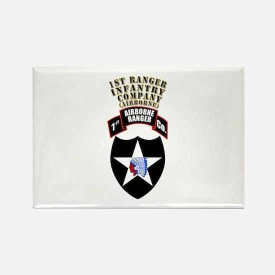 SOF - 1st Ranger Infantry Co - Abn Rectangle Magne