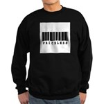 Priceless Barcode Design Sweatshirt (dark)
