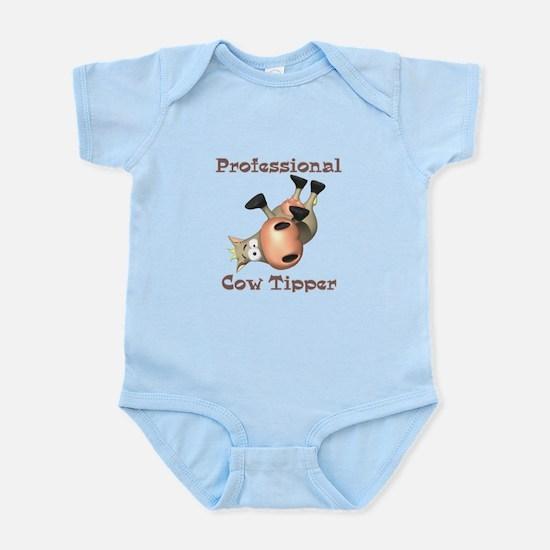 Professional Cow Tipper Infant Bodysuit