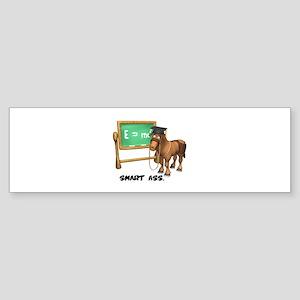 Smart Ass Donkey Sticker (Bumper)