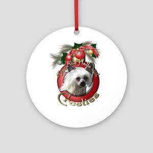 Christmas - Deck the Halls - Cresties Ornament (Ro