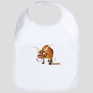 Bull Shit Design Bib