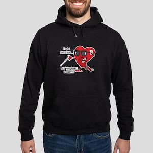 Love is Blind Ugly Heart Desi Hoodie (dark)