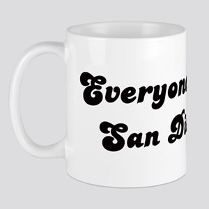 Loves San Diego Girl Mug