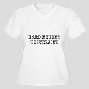HARD KNOCKS Women's Plus Size V-Neck T-Shirt