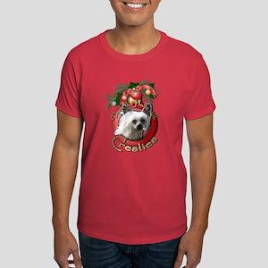 Christmas - Deck the Halls - Cresties Dark T-Shirt