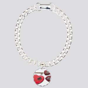 Which_Heart_To_Unlock Charm Bracelet, One Charm