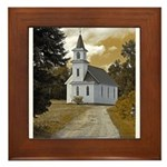 Riverside Presbyterian Church Framed Tile