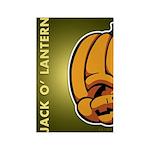 Jack-O'-Lantern Rectangle Magnet (100 pack)