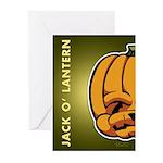 Jack-O'-Lantern Greeting Cards (Pk of 20)