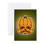 Jack-O'-Lantern Greeting Cards (Pk of 10)